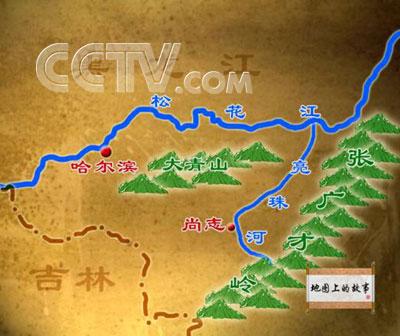 哈尔滨尚志市地图