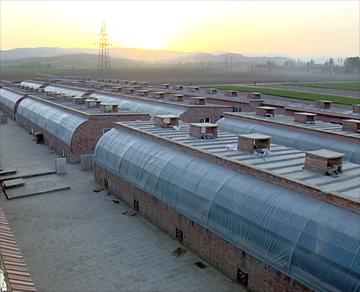 这高平的养猪场设计得也颇有山西大院