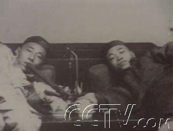 -[老照片]鸦片战争影楼中国剪时期王视频图片