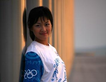 广州90后模特李舒