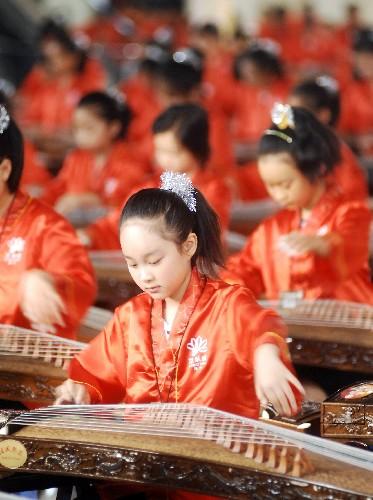 茉莉花古筝演奏教学视频