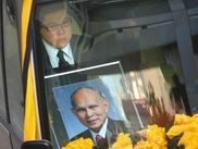 霍英东遗体被送离协和医院