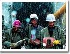 青藏铁路建设者