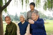谢延信夫妻与亡妻母亲和弟弟生活在一起