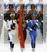 中国军队血脉源自何处?为什么叫人民子弟兵?<font color=brown>《脚踏着祖国大地》</font>追溯中国人民解放军建军历史,再现不朽军魂。