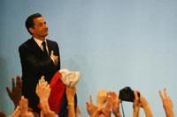 萨科齐成为法国总统