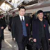黑龙江人大代表团抵京