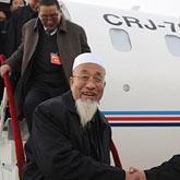 甘肃全国政协委员抵京