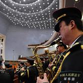 军乐团高奏国歌