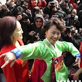 朝鲜族政协委员翩然起舞