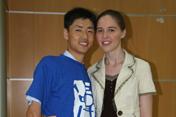 米静婕和他的中国老公