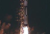 中国首次发射一箭三星成功