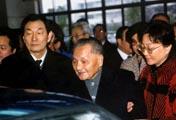 邓小平同志视察上海大众