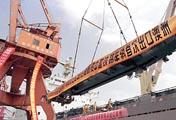 中国铁路车辆首次出口发达国家