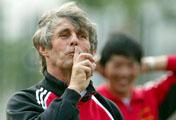 中国足球队进军世界杯