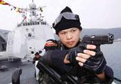 海军特战队员出征护航