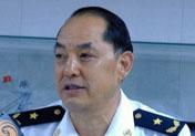 护航编队指挥员杜景臣少将