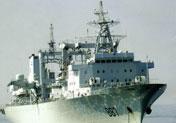 887微山湖号补给舰