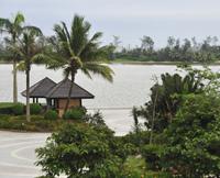 组图:椰岛、海风、鳌石尽展博鳌美景