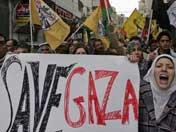 民众强烈谴责以军空袭行动