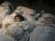 五姊妹在以军空袭中被炸死