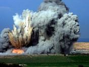 以军F-16轰炸加沙