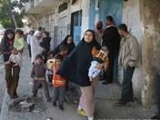 部分巴勒斯坦人逃离家乡