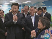 <b>习近平探访澳门普通市民家庭</b>