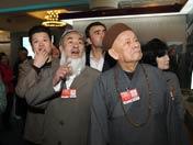 政协委员参观西藏展览