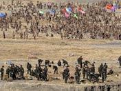西藏驻军拉萨春季植树忙