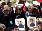 西藏民众迎接百万农奴解放日