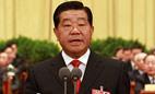 全国政协十一届二次会议举行闭幕式