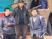 南江街头的背二哥