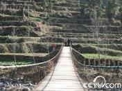 连心桥跨越南江河