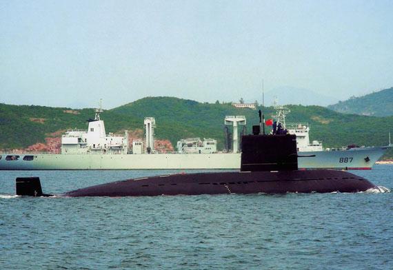 中国海军新型潜艇静音性及生存力明显提高