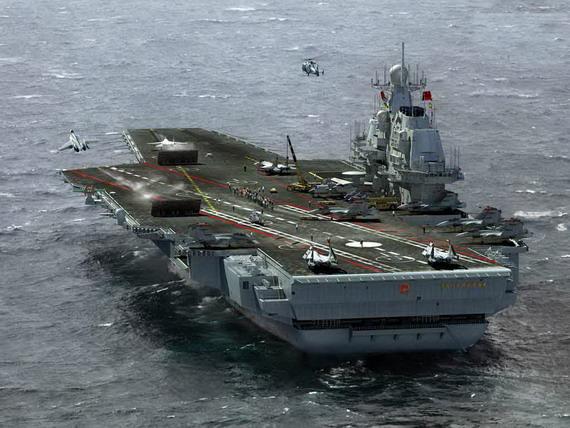 国产航母应在中型以上尽量用自有技术
