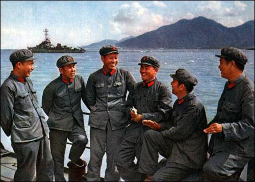 中越西沙海战的珍藏老照片