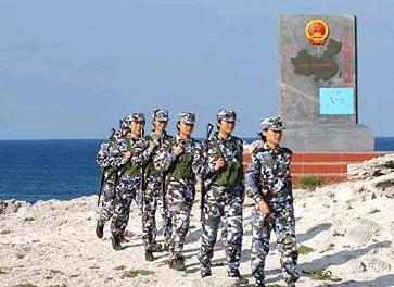 驻守西沙群岛的中国海军女兵们
