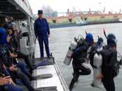 中国蛙人保卫海上阅兵