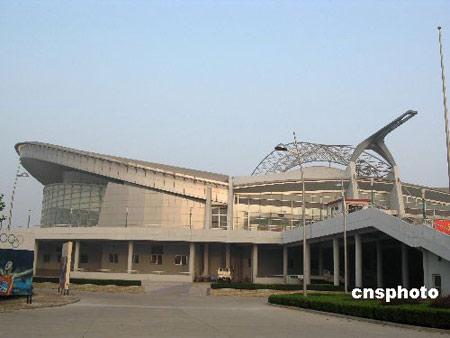 秦皇岛奥体中心体育场 造型优美气势如虹