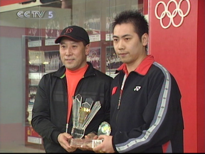 桑洋/CCTV.com/[视频]羽毛球国家队男双队员25岁桑洋因伤退役