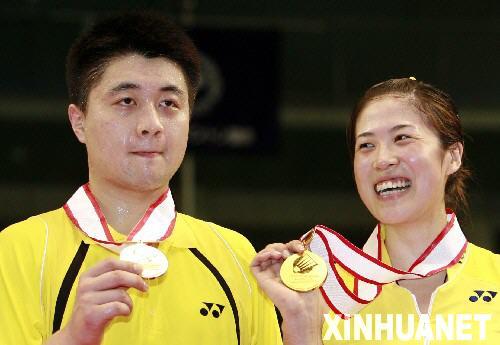 日本羽毛球公开赛 高崚 郑波混双夺冠